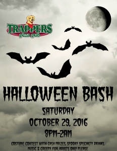 Trappers Halloween Party
