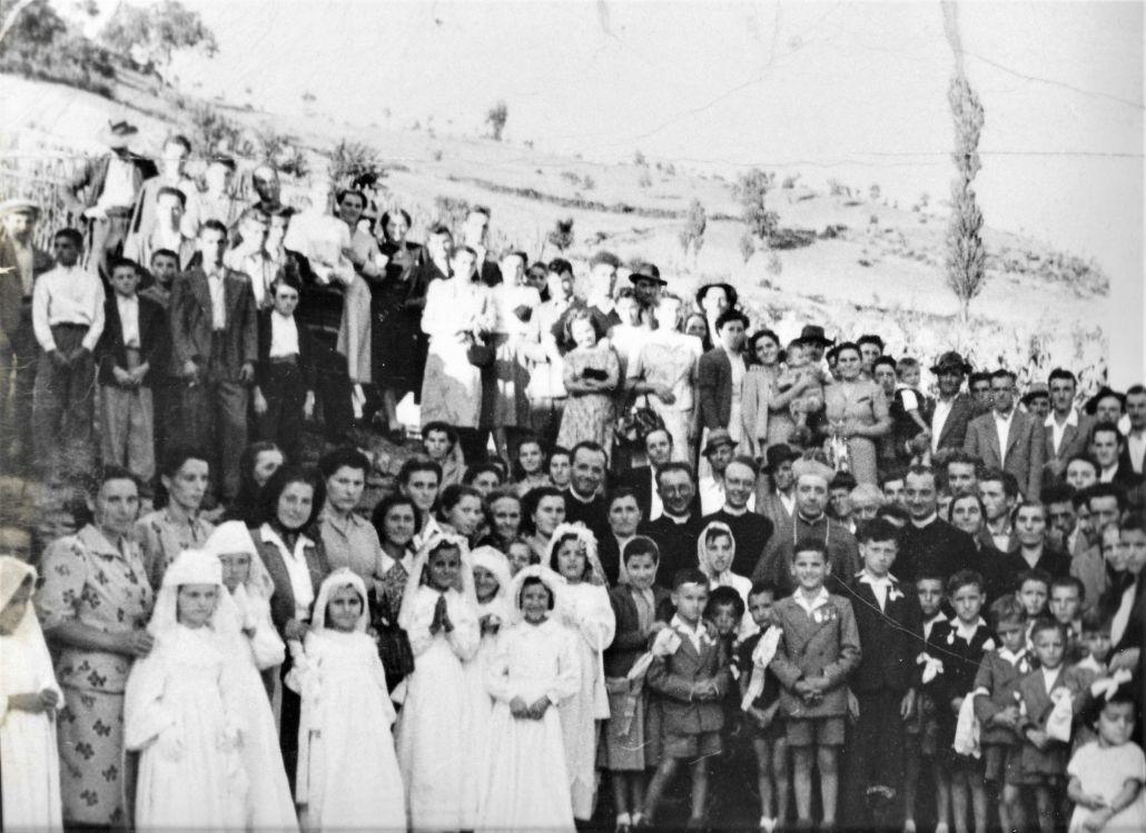 Strabatenza primavera 1952 comunioni - Archivio Giordano Zuccherelli