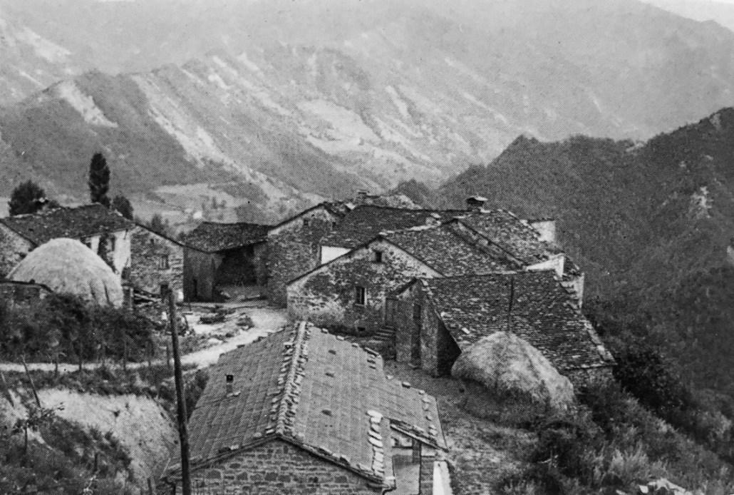 Anni 60 Veduta di Strabatenza (foto Pio Calisesi)