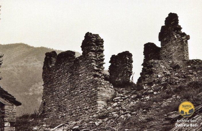 1963 -Castello di Ridracoli ruderi