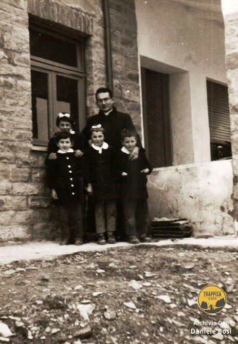 1965 - gli ultimi bambini di Casanova dell'Alpe...con la scuola nuova