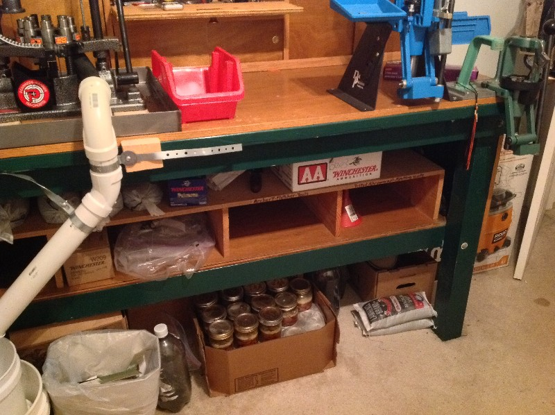 reloading bench and other