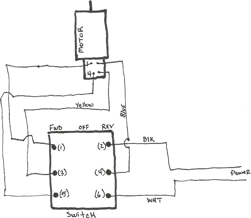 Ac Motor Reversing Switch Wiring Diagram : 40 Wiring
