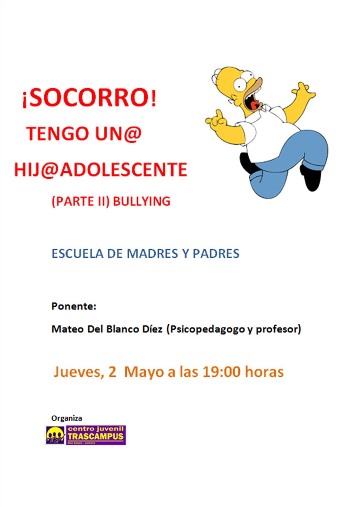 Cartel Escuela De Padres 2 De Mayo Jpg