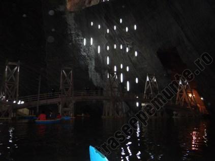 Salina Turda_cu barca pe lac