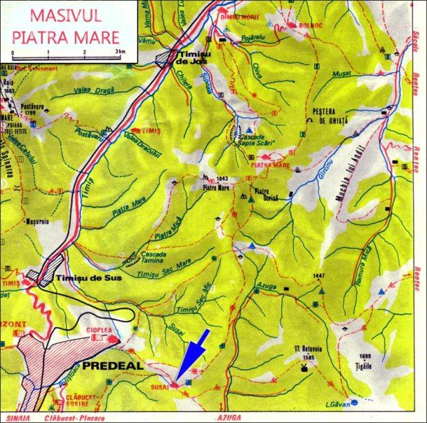 Harta Muntii Piatra Marea_Cabana Susai