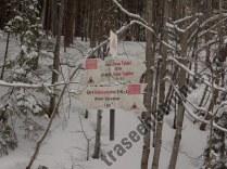 Valea Babarunca - marcaj