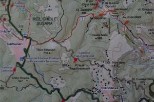 Harta topografica