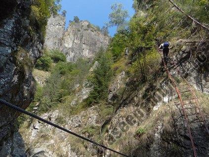 Canionul Valea lui Stan_scara