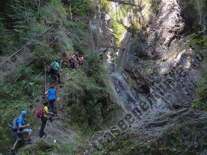 Canionul Valea lui Stan_scari