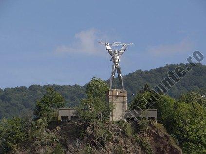 Statuia lui Prometeu _Barajul Vidraru