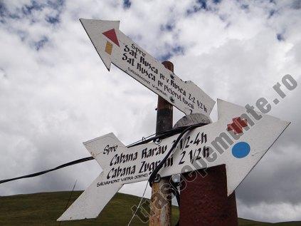 Cabana Giumalau-marcaj montan