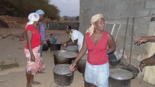 matrimonio capoverdiano i preparativi per il banchetto