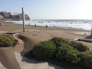 spiaggia di palya del ingles