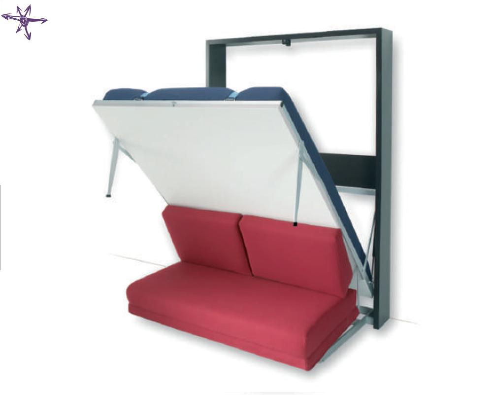 Letto armadio con divano modello Houdini francese