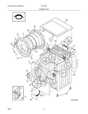 ATF7000FG1 Parts List