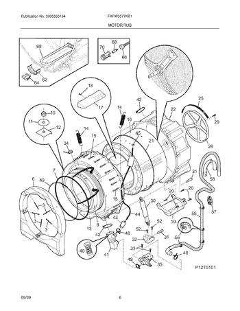 FAFW3577KB1 Parts List