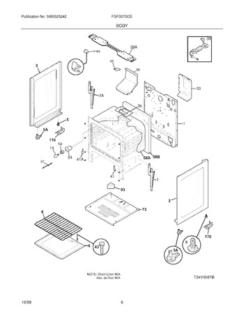 FGF337GCE Parts List
