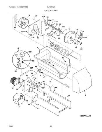 GLHS269ZCQ0 Parts List