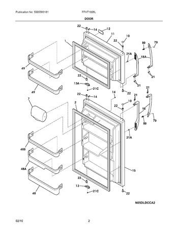 FFHT1826LS0 Parts List