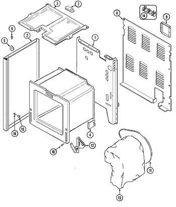 AER1140AGH Parts List