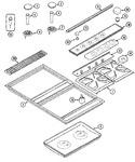 CVGX2423W Parts List