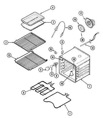 JJW9527BAW Parts List