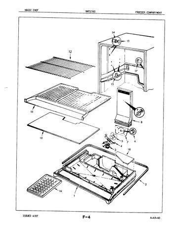 NNT176GH (BOM: 7A29A) Parts List