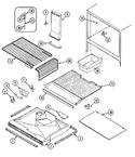 RBE214TFM Parts List