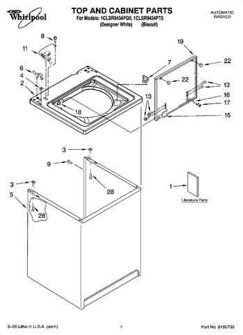 1CLSR9434PQ0 Parts List