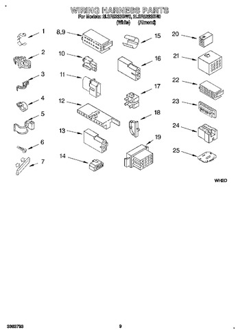 2LSR5233BN0 Parts List