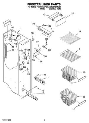 7GS2SHEXPL03 Parts List