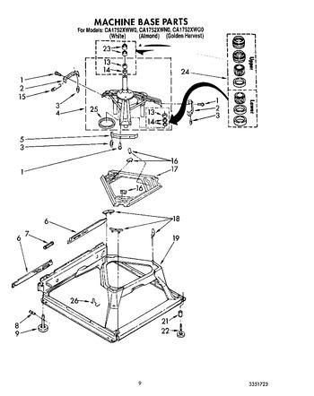 CA1752XWW0 Parts List