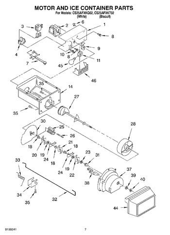 CS25AFXKT02 Parts List