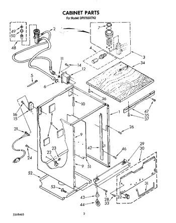 DP8700XTW2 Parts List