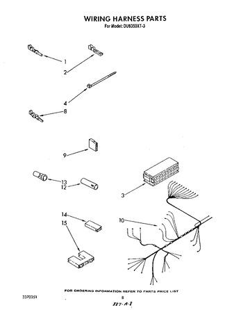 DU8350XT3 Parts List