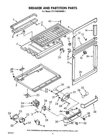 ET17HKXMWR1 Parts List