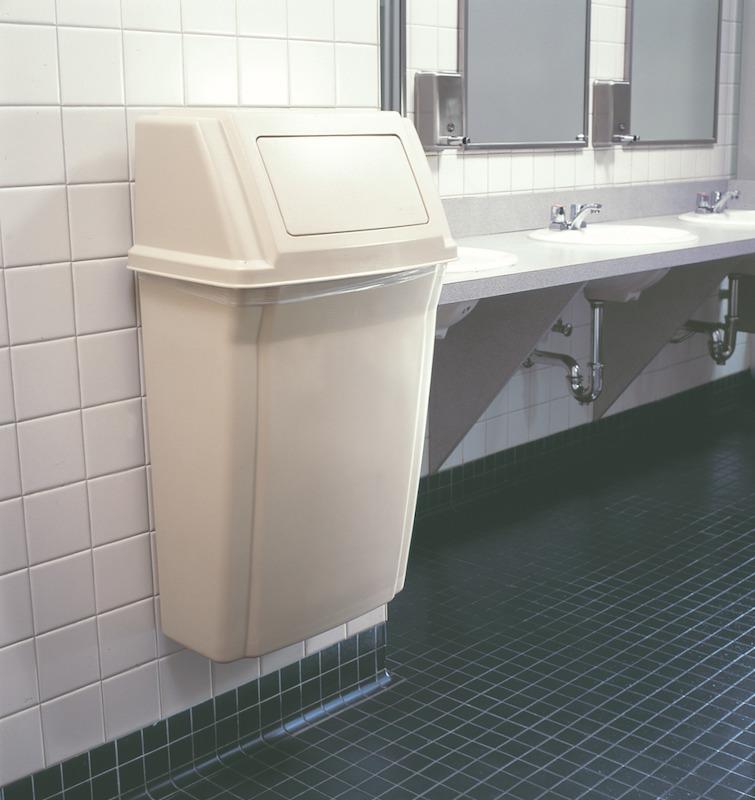 Wall Mount Trash Can  Wall Mounted Waste Bin  Slim Jim Trash Bin  Trash Cans Warehouse