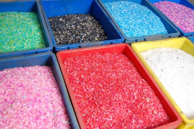 塑膠回收顆粒