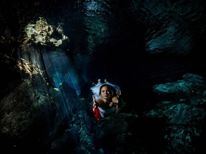 Anna Underwater modelling