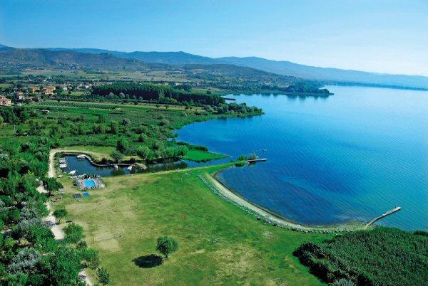 Campeggi Lago Trasimeno con piscina