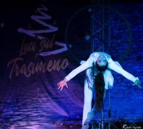 Luci sul Trasimeno - Spettacoli Rocca 1 (Foto Roberto Pagnotta)
