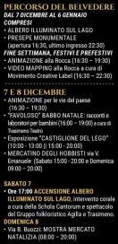 albero di natale Luci sul Trasimeno rossella brescia castiglionedellago eventi-e-cultura