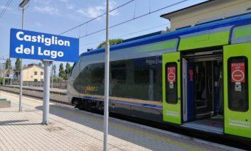 Trasimeno Line: torna il servizio di Trenitalia che copre le località lacustri
