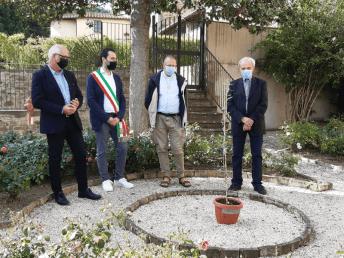 cordova Garden of peace germoplasma pace Paciano cronaca paciano