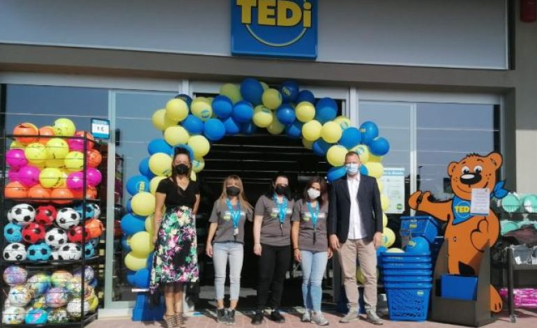Inaugurata a Magione la nuova filiale della catena TEDI