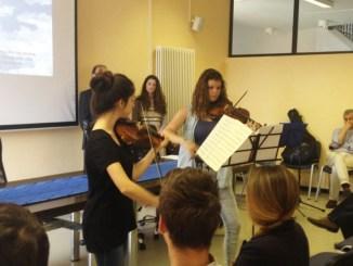 intermezzo musicale violini
