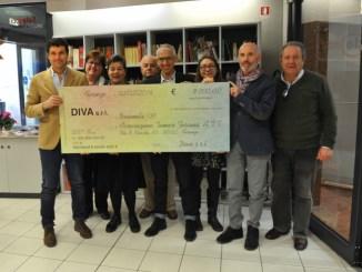Azienda Diva dona 9.000 euro ad Associazione Tumori Toscana
