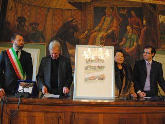 Consegnata agli artisti Bartella e Raponi la cittadinanza onoraria di Magione