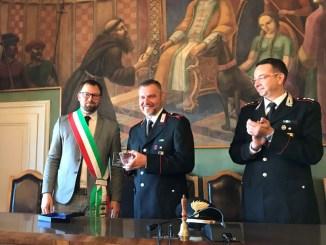 La comunità di Magione saluta il maresciallo Andrea Valli